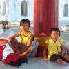 Mandalay - pagoda Kuthodaw 1