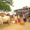 fermata della slow boat sull'Irrawaddy