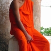 4 Luang Prabang giovane studente scuola buddista