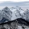Vista del Triglav dal Monte Klek