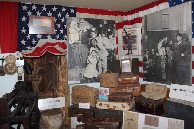 Casa Museo Joe Petrosino Una delle sezioni