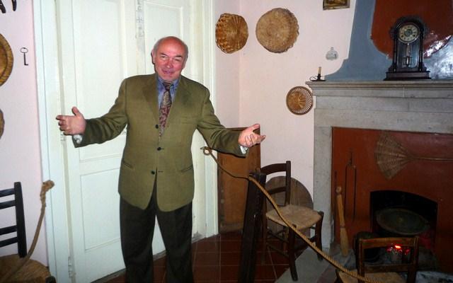 Il signor Nino Melito Petrosino pronipote di Joe Petrosino.