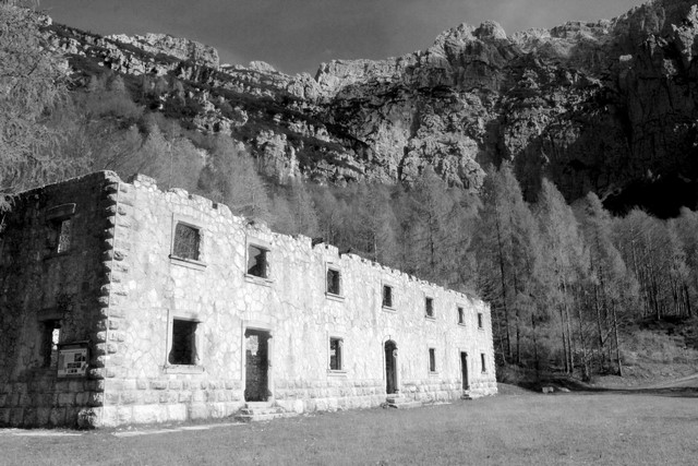 ospedale militare Val Alba