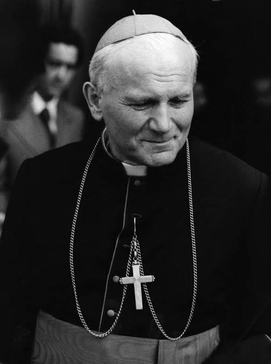 The newly elected Pope, John Paul II (Karol Jozef Wojtyla) of Poland, October 19, 1978. (Photo by Central Press/Getty Images)