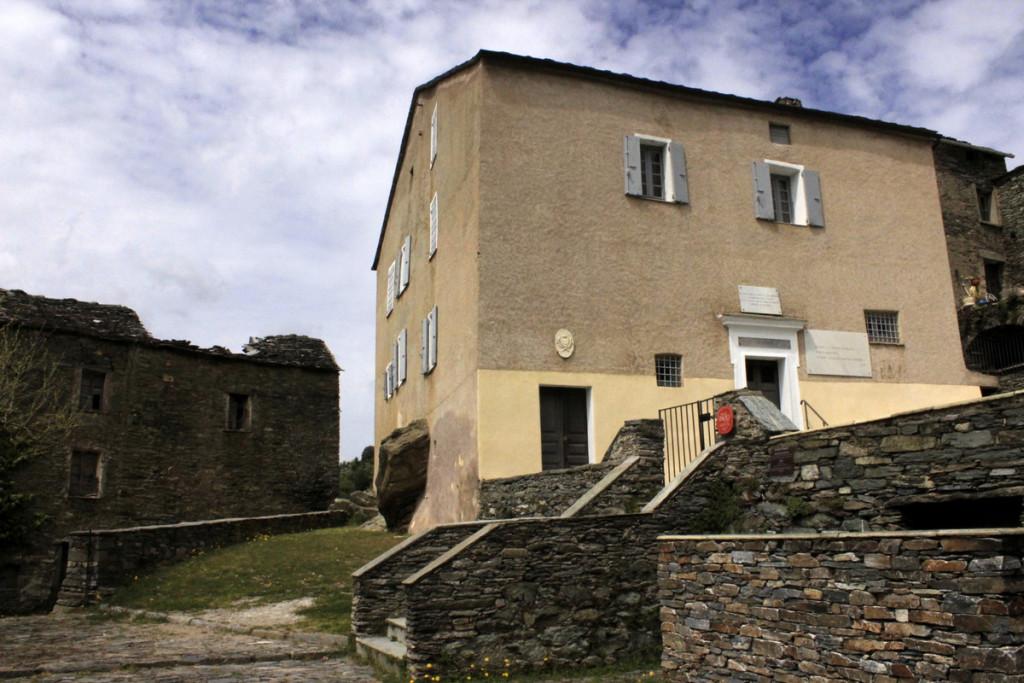 in Castagnicia, la casa natia di Pascal Paoli